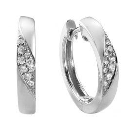 Viventy 780094 Silber Creolen Ohrringe