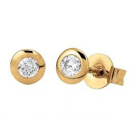 Viventy 781424 Ladies´ Stud Earrings Gold-Plated