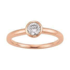 Viventy 778001 Damen-Ring 925 Sterlingsilber Verlobungsring Antragsring