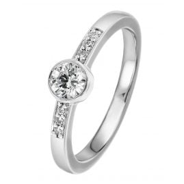 Viventy 769721 Engagement Ring Silver 925 Cubic Zirconia Women's Ring