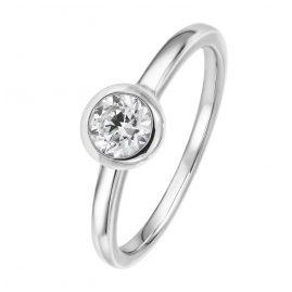 Viventy 781441 Women's Ring Silver 925 Engagement Ring Cubic Zirconia
