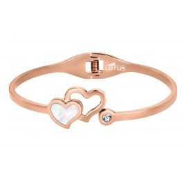 Lotus 1792-2/2 Bangle for Ladies Hearts