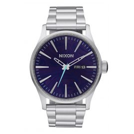 Nixon A356 230 Sentry SS Purple Mens Watch