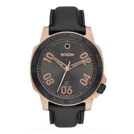 Nixon A508 2308 Ranger Leather Rose Gold Herrenuhr