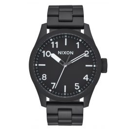 Nixon A974 756 Safari Black/White Herrenuhr