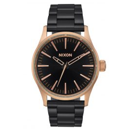 Nixon A450 2481 Sentry 38 SS Watch Black/Rose