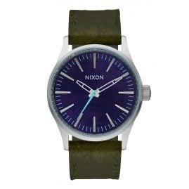 Nixon A377 2302 Sentry 38 Ladies Watch Purple/Olive
