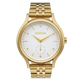 Nixon A994 508 Sala Gold/White Damenuhr