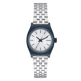 Nixon A399 1849 Small Time Teller Navy/Silver Damenuhr