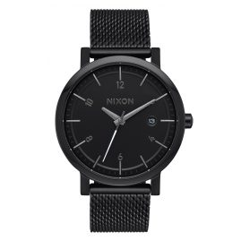 Nixon A1087 001 Rollo 38 SS Ladies Watch Black
