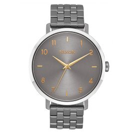Nixon A1090 2765 Ladies Watch Arrow Gunmetal