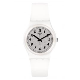 Swatch GW194 Damenuhr Something White