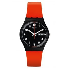 Swatch GB754 Watch Red Grin