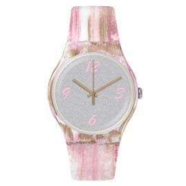 Swatch SUOW151 Ladies Watch Pinkquarelle