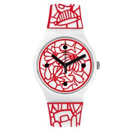 Swatch SUOZ259C Damenarmbanduhr Cutotto