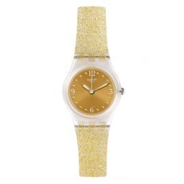 Swatch LK382 Ladies' Wristwatch Golden Glistar Too