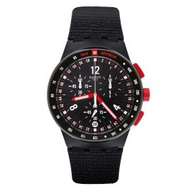 Swatch SUSB411 Men's Watch Chronograph Stand Hall