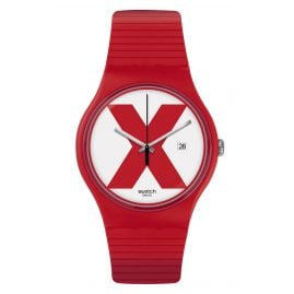 Swatch SUOR400 Men's Watch XX-Rated Red