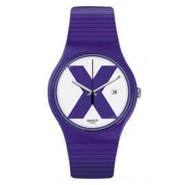 Swatch SUOV401 Armbanduhr XX-Rated Purple
