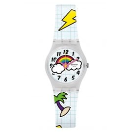 Swatch LW160 Ladies' Wrist Watch School Break