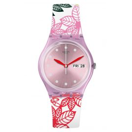 Swatch GP702 Damenuhr Summer Leaves