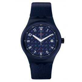 Swatch SUTN405 Automatic Watch Sistem Noite