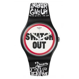 Swatch SUOB160 Armbanduhr Swatch Out
