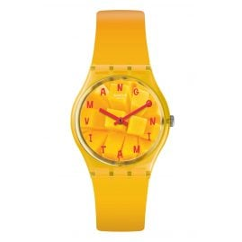 Swatch GO119 Wristwatch Coeur de Mangue
