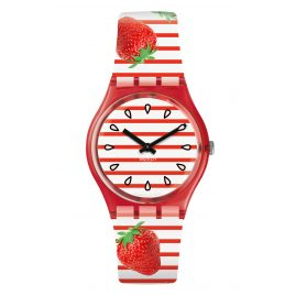 Swatch GR177 Armbanduhr Toile Fraisee