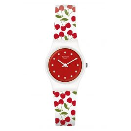 Swatch LW167 Ladies´ Wristwatch Cerise Moi