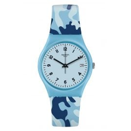 Swatch GS402 Wristwatch Camoublue