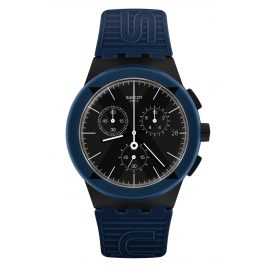 Swatch SUSB418 Men´s Watch Chronograph X-District Blue