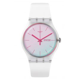 Swatch SUOK713 Damenuhr Polawhite