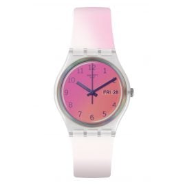 Swatch GE719 Damenuhr Ultrafushia