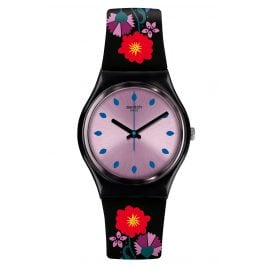 Swatch GB319 Damenuhr Coquelicotte