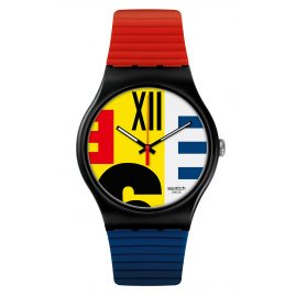 Swatch SUOB171 Watch Sir Swatch