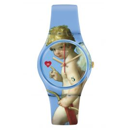 Swatch GZ414 Damenuhr Fleche d'Amour