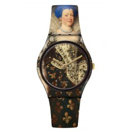 Swatch GZ337 Armbanduhr Hairblue Mary