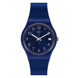 Swatch GN416 Armbanduhr Silver in Blue