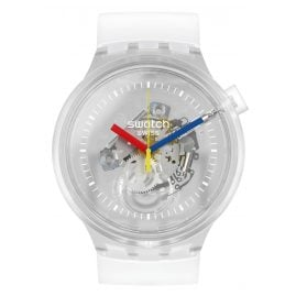 Swatch SO27E100 Big Bold Wristwatch Jellyfish