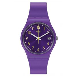 Swatch GV402 Damenuhr Purplazing