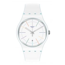 Swatch SUOS404 Wristwatch White Layered