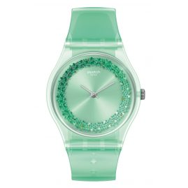 Swatch GG225 Women's Watch Amazo-Night Green