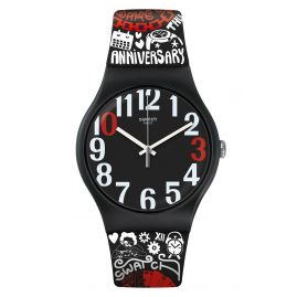 Swatch SUOZ322 Wristwatch 30 And Ticking