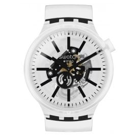 Swatch SO27E101 Big Bold Armbanduhr Blackinjelly