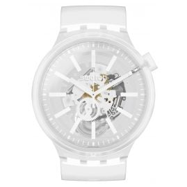 Swatch SO27E106 Big Bold Wristwatch Whiteinjelly