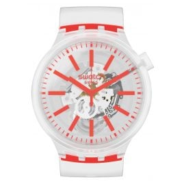 Swatch SO27E102 Big Bold Watch Orangeinjelly