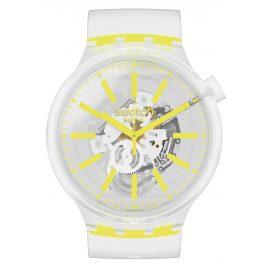 Swatch SO27E103 Big Bold Watch Yellowinjelly