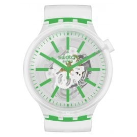 Swatch SO27E104 Big Bold Armbanduhr Greeninjelly