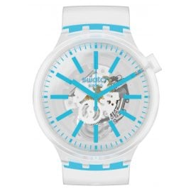 Swatch SO27E105 Big Bold Uhr Blueinjelly